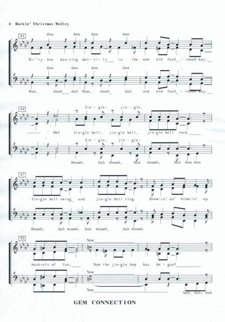 Rockin Christmas Medley  music sheet