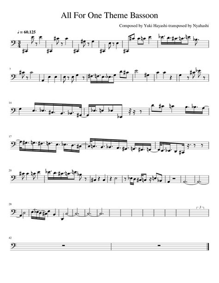 Rondino For Solo Bassoon  music sheet