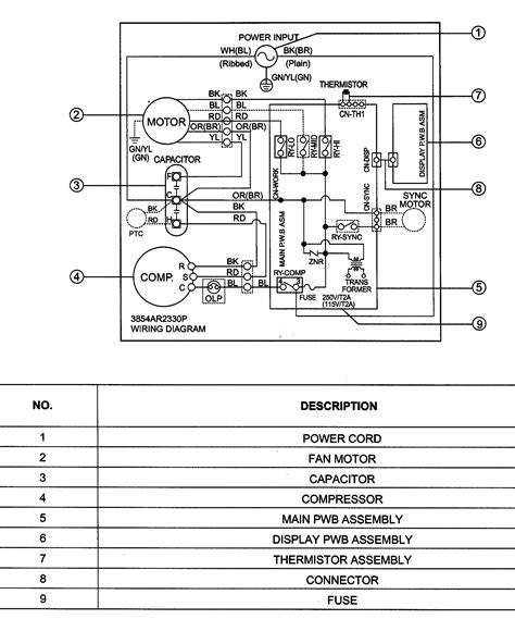 free download ebooks Room Air Conditioner Wiring Diagrams