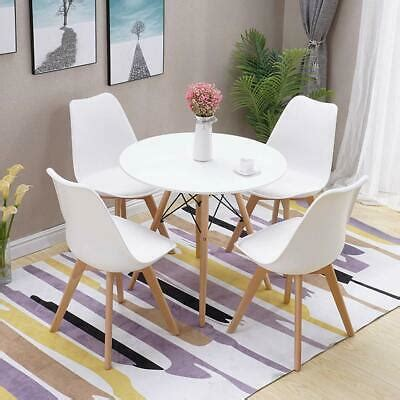 round table and chairs eBay