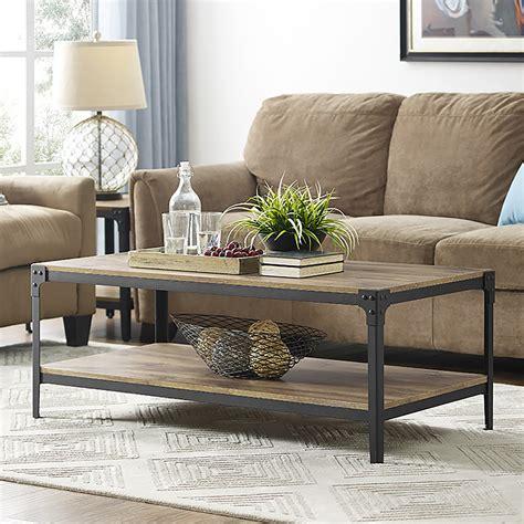 rustic coffee table eBay
