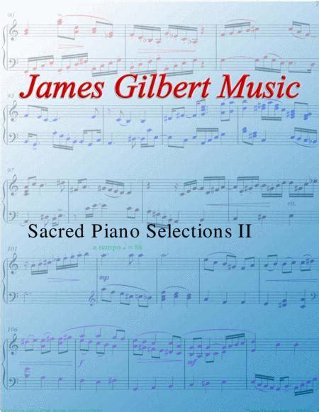 Sacred Piano Selections Ii Pnc02  music sheet