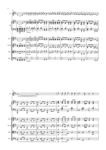 Salvator Mundi For String Orchestra  music sheet