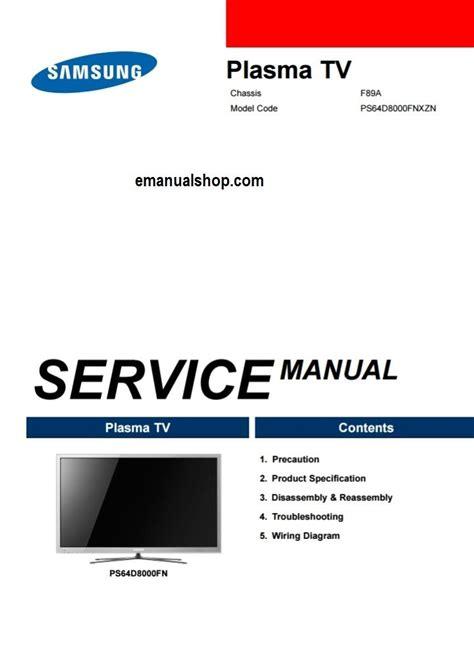 free download ebooks Samsung Plasma Owners Manual.pdf