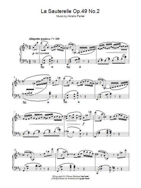 Sauterelle music sheet