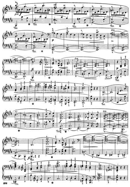Scherzo No 4 In E Major  music sheet