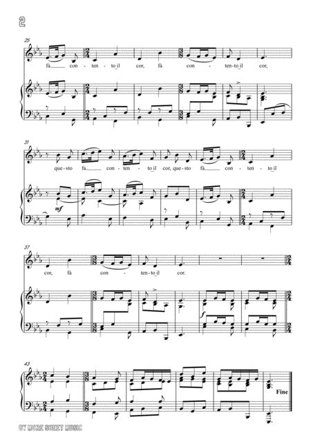Schubert Die Wehmuth In D Major For Voice Piano  music sheet