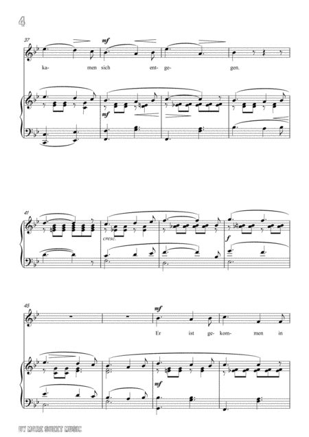 Schubert Freiwilliges Versinken Voluntary Oblivion D 700 In G Minor For Voice Piano  music sheet