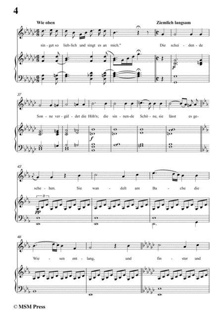 Schubert Sehnsucht D 52 In E Flat Major For Voice And Piano  music sheet