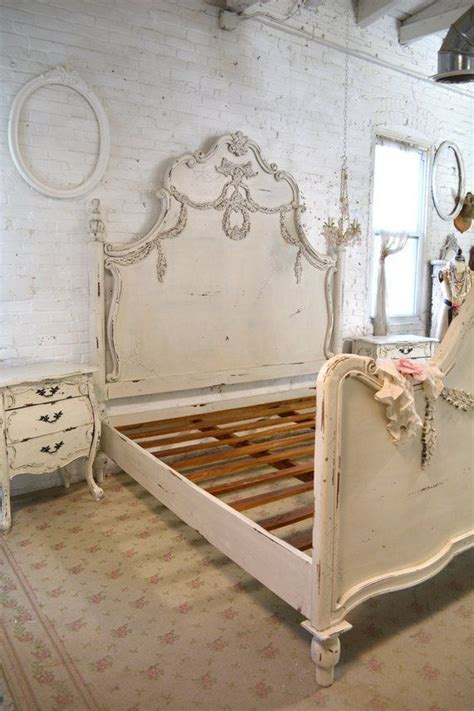 shabby chic romantic beds Painted Cottage