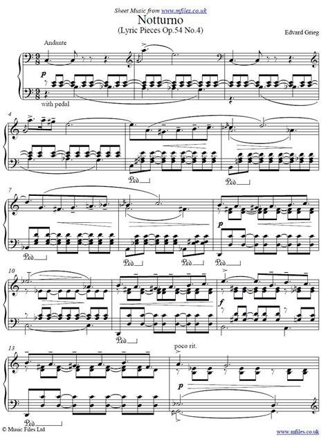 Shapes Of A Dream No 4 B Flat Major Op 54 No 4  music sheet