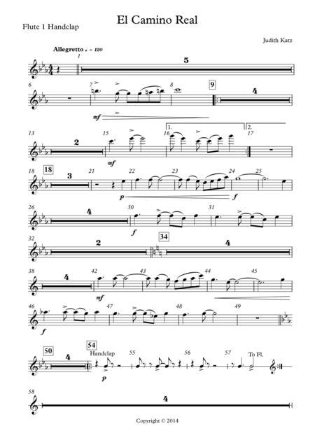 Si Nos Encontramos En El Camino  music sheet