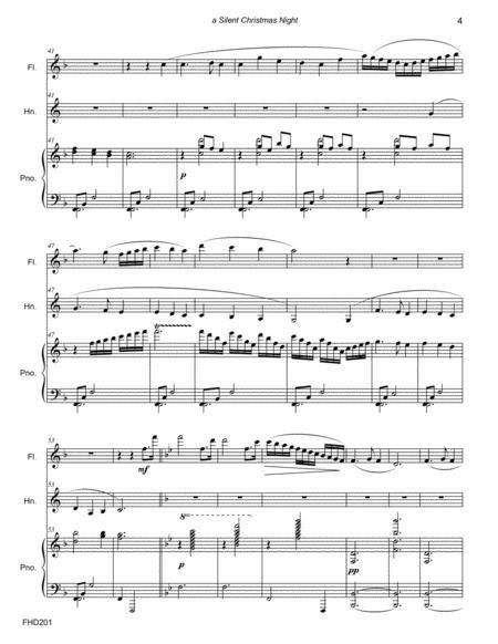 Silent Christmas Night Medley English Horn Euphonium With Piano  music sheet