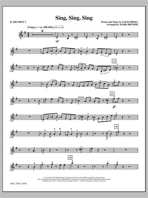 Sing  music sheet