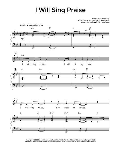 Sing Praise  music sheet