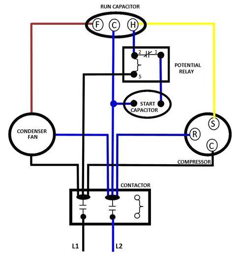 free download ebooks Single Phase Compressor Wiring Diagram