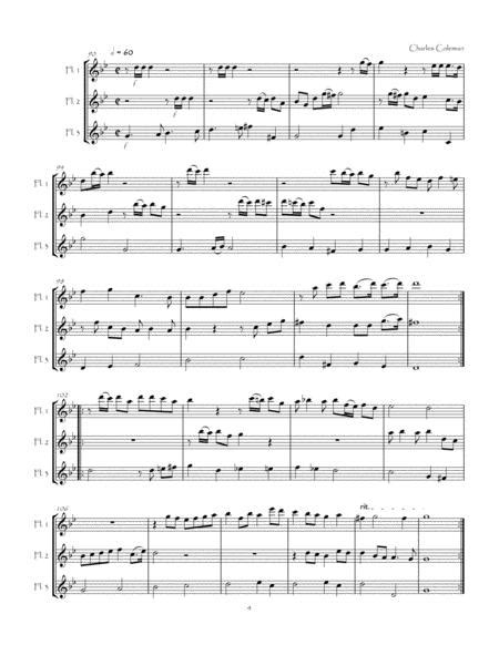 Six Airs From The Renaissance Period For Flute Trio  music sheet