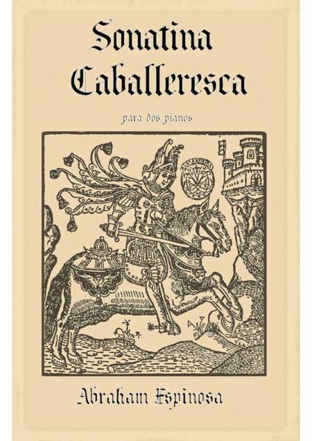 Sonatina Caballeresca Para Dos Pianos  music sheet