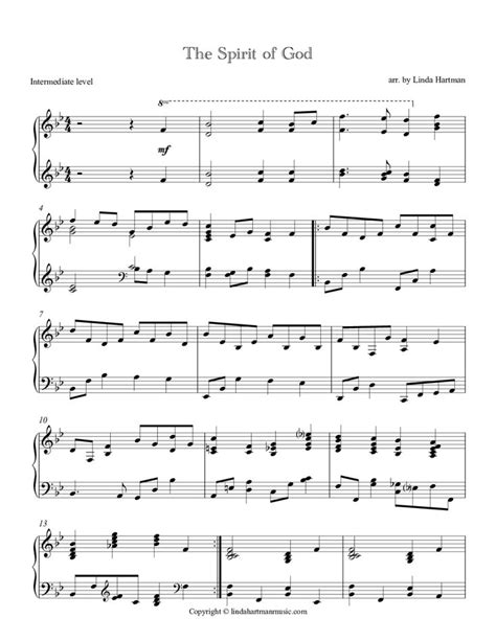 Spirits Of The Wind  music sheet