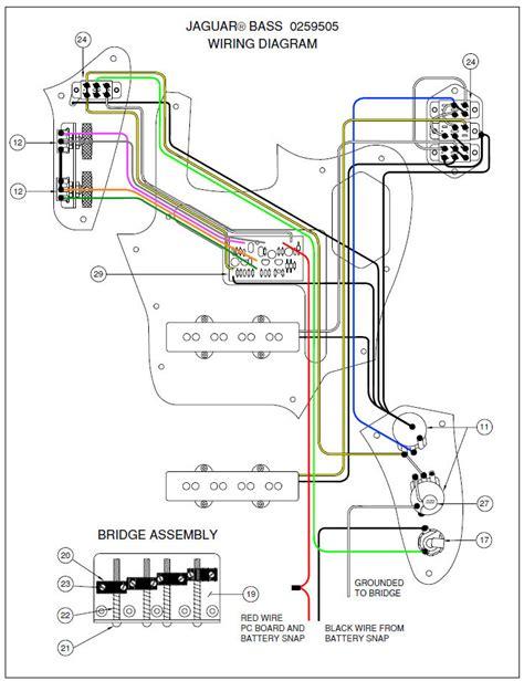 free download ebooks Squier Jaguar Wiring Diagram