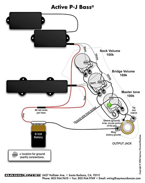 free download ebooks Sss Active Bass Pickup Wiring Diagram