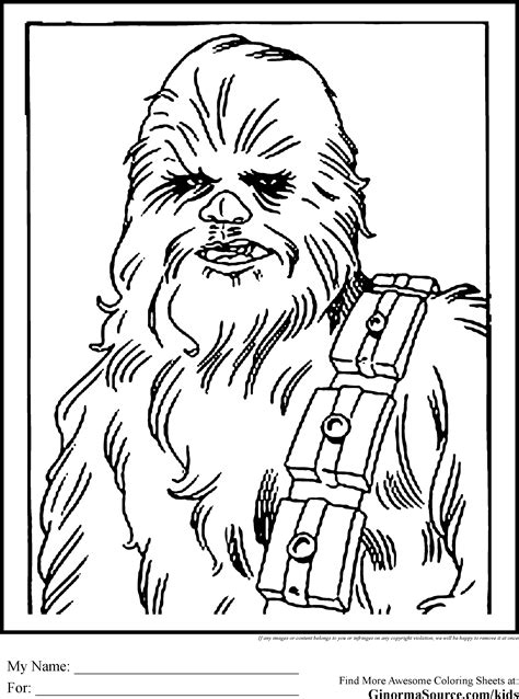 star wars Coloring Pages Free and Printable
