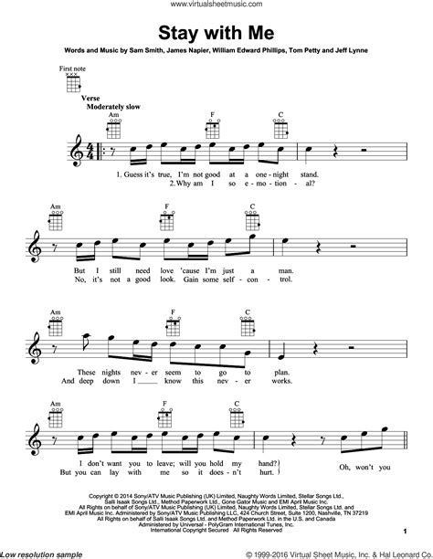 Stay With Me String Trio  music sheet