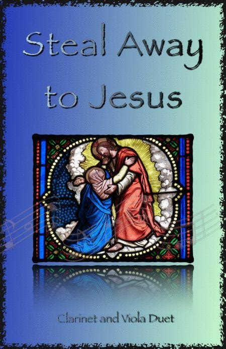 Steal Away To Jesus Gospel Song For Oboe And Bassoon Duet  music sheet