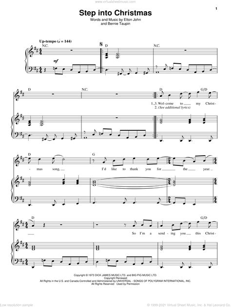 step into christmas wind quintet music sheet