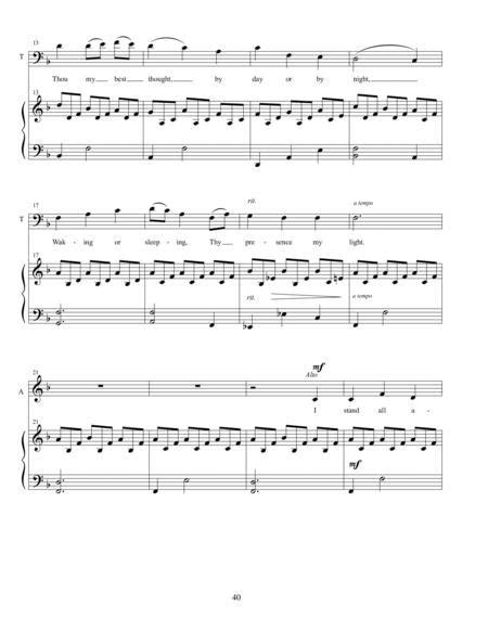 Still Be My Vision Alto Tenor Duet Mp3  music sheet