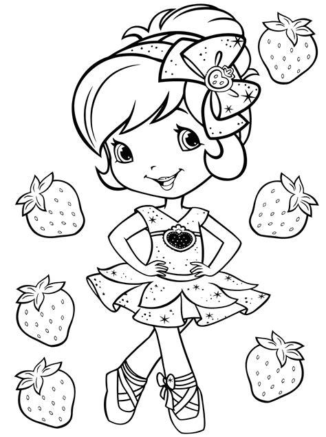 strawberry shortcake coloring book eBay