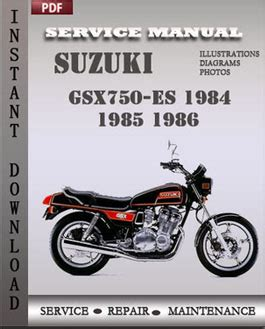 free download ebooks Suzuki Gsx750 Service Manual.pdf
