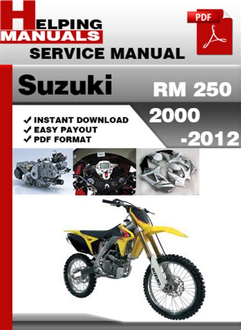free download ebooks Suzuki Rmz 250 2012 Service Manual.pdf