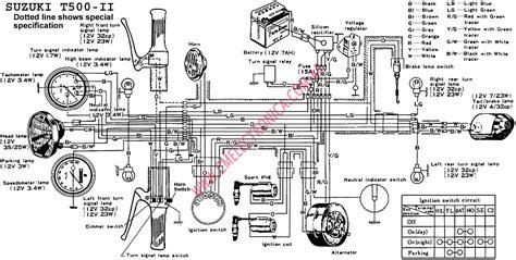 free download ebooks Suzuki T500 Wiring Diagram