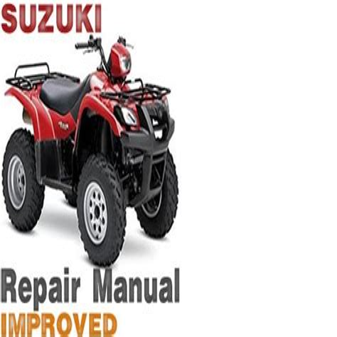 free download ebooks Suzuki Vinson Repair Manual.pdf