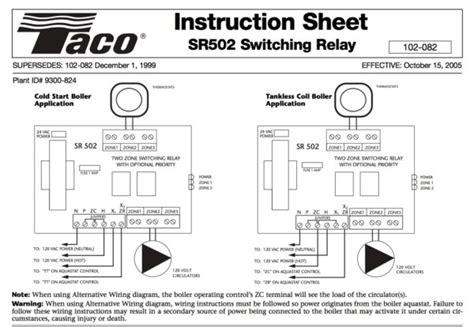 free download ebooks Taco 502 Wiring Diagram