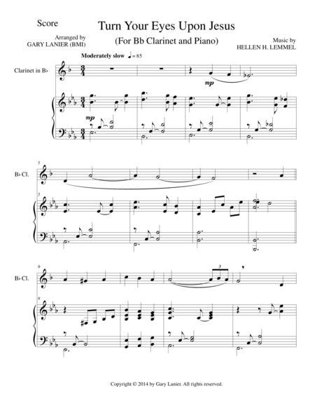 Take The Name Of Jesus With You For Bb Clarinet And Piano With Score Part  music sheet