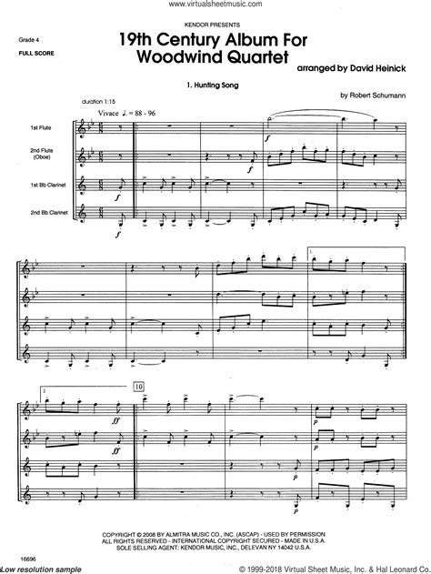 Tea For Two For Woodwind Quartet  music sheet