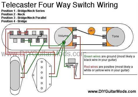 free download ebooks Telecaster 4 Way Switch Wiring Diagram Cool Guitar Mods Pinterest