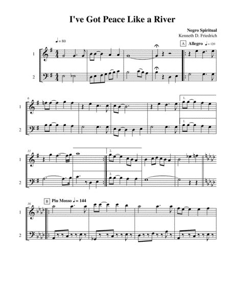 Ten Selected Hymns For The Performing Duet Vol 5 Flute And Trombone Or Euphonium  music sheet