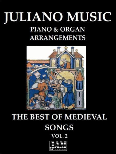 The Best Of Medieval Songs Vol 2 Piano Organ Arrangement  music sheet