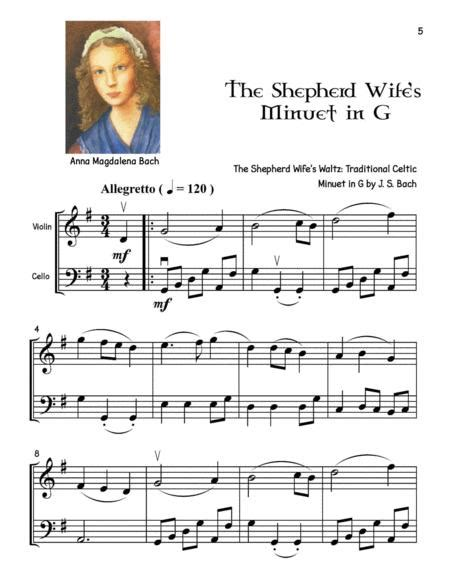 The Cellist Meets The Fiddler 12 Violin Cello Duet Mash Ups Of Popular Classical And Fiddle Tunes  music sheet