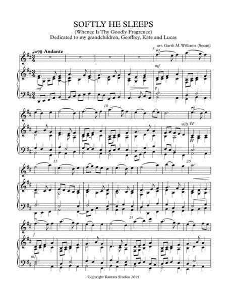 The City Sleeps An Original Piano Solo From My Piano Book Windmills  music sheet