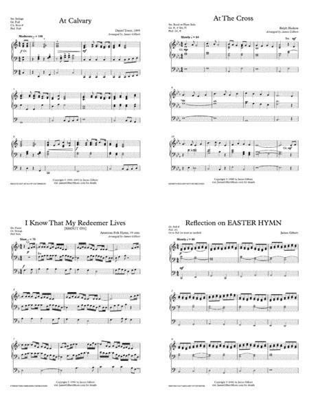 The Cross Medley Selections For Solo Organ Orc01  music sheet