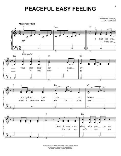 The Dimension Of Peaceful Beauty  music sheet