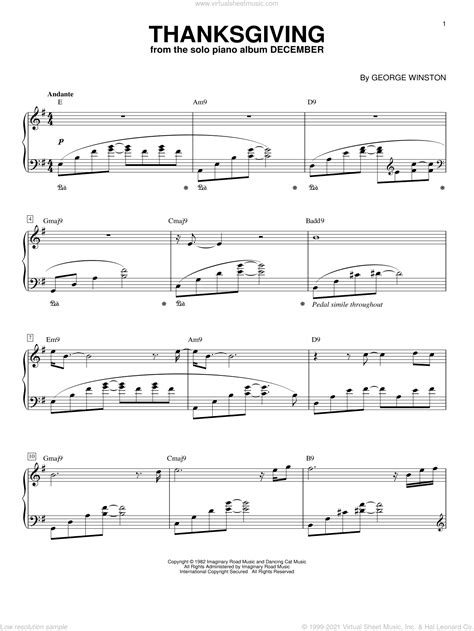 The First Thanksgiving Feast Kids Song Solo And Piano  music sheet