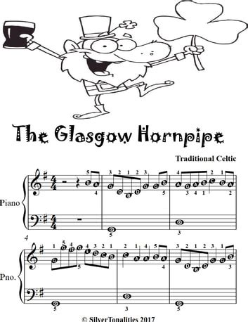 the glasgow hornpipe easiest piano sheet music music sheet