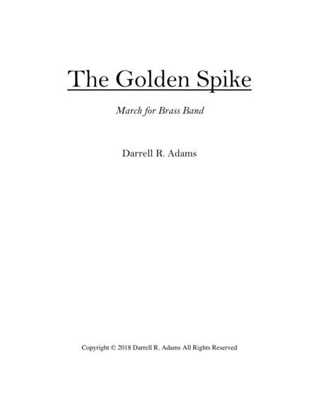 The Golden Spike Score  music sheet
