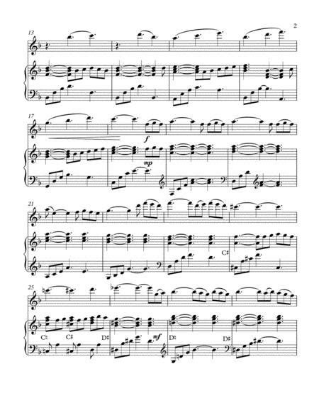 The Impossible Dream Arranged For Pedal Harp And Violin  music sheet