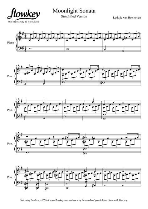the man in the moon beginner piano sheet music music sheet